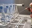 Пескоструйная обработка металлопроката и металлоизделий