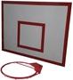 Баскетбольный щит металл 0, 8м. х 1, 0м. с кольцом