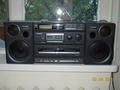 Продаю 2-х кассетный магнитофон с радио и CD,  Panasonic RX-DT680