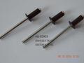Вытяжные заклепки RAL 8017 шоколадно-коричневые