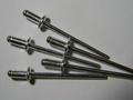 Заклепка алюминий-сталь,  размер 3х6.