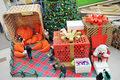 Новогоднее оформление торговых центров на заказ
